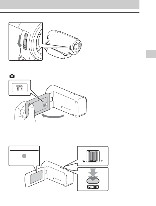 Page 15 of Sony Camcorder HDR-CX405 User Guide