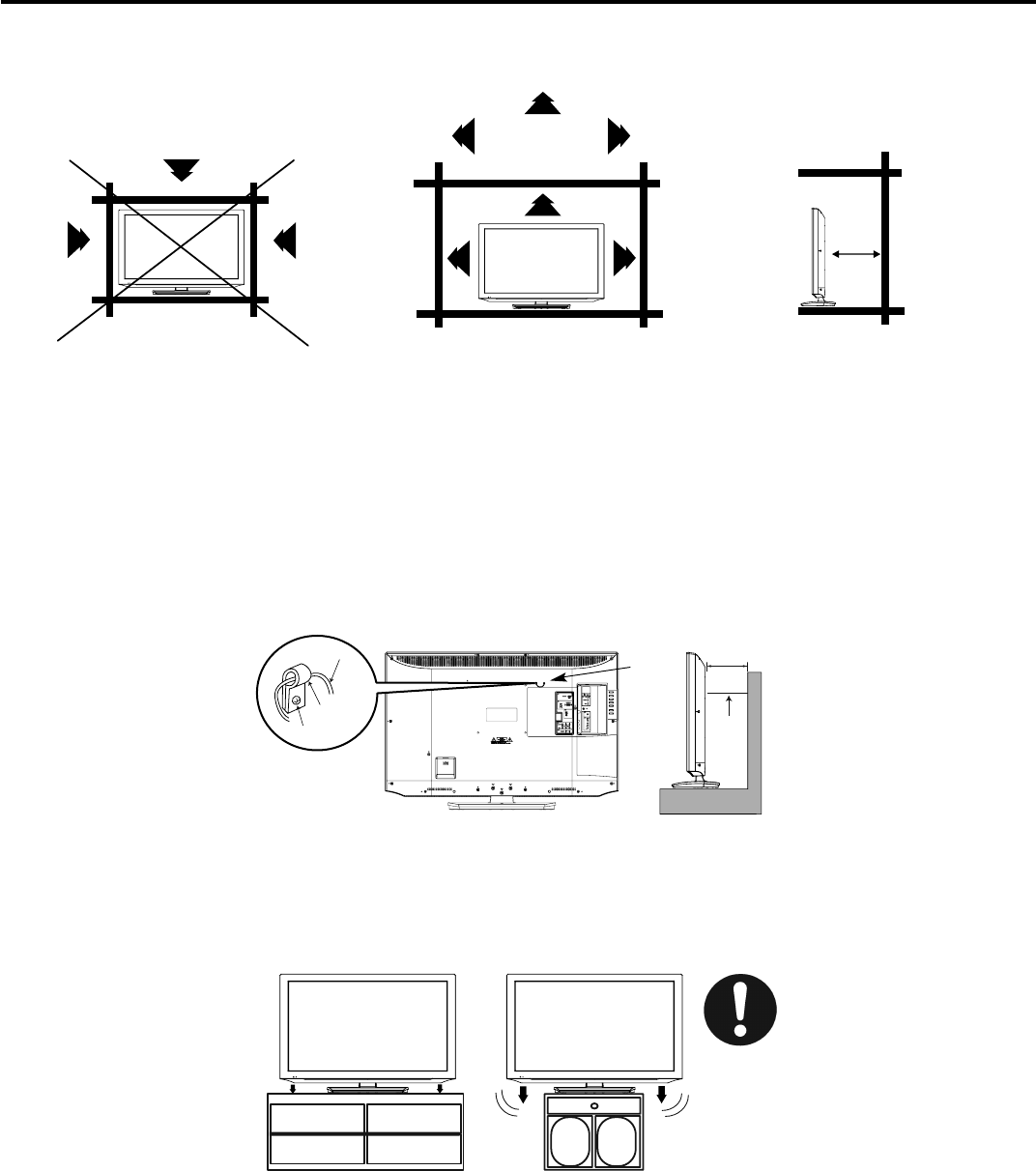 Page 6 of Hitachi Flat Panel Television L40A105 User Guide