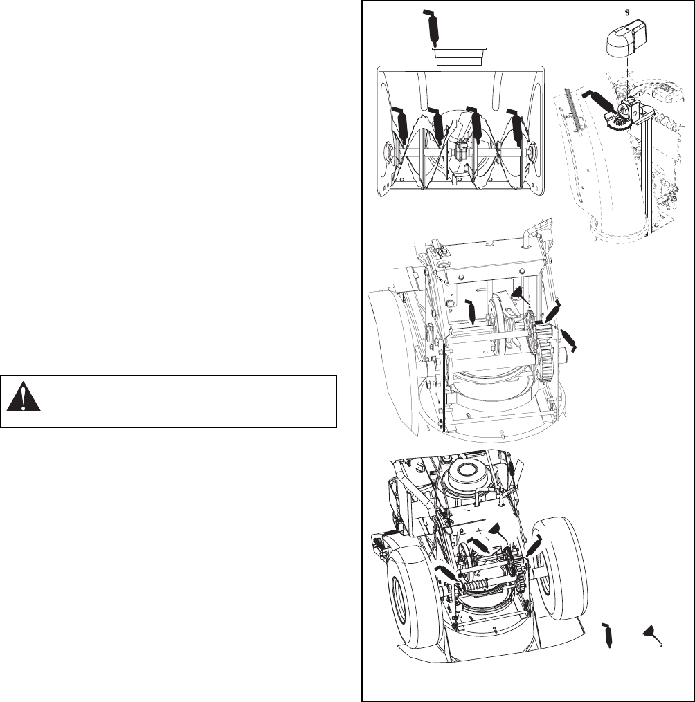 Page 21 of Ariens Snow Blower 926004-ST926DLE User Guide