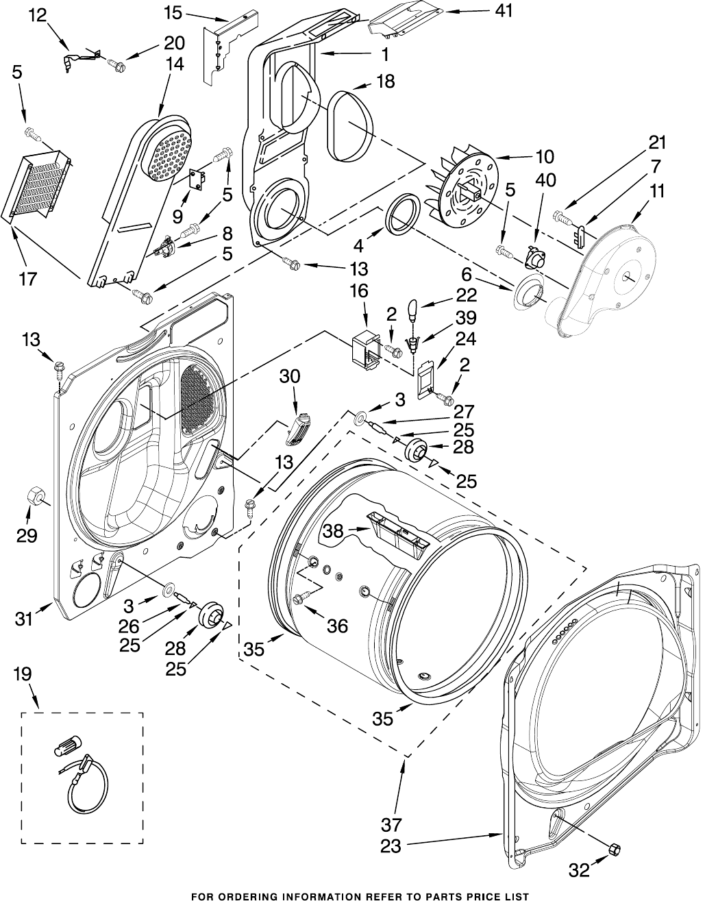 Page 5 of Whirlpool Clothes Dryer WED6200SW1 User Guide