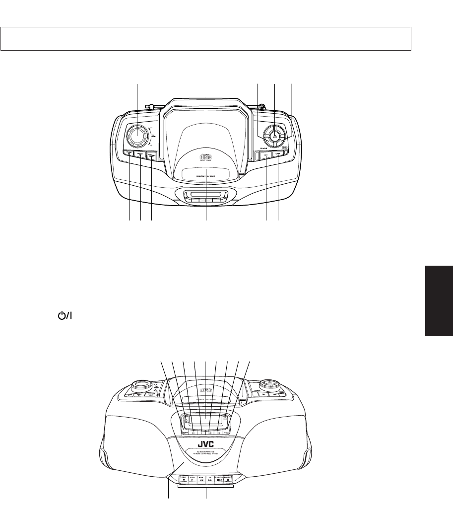 Page 8 of JVC CD Player RC-BX530SL User Guide