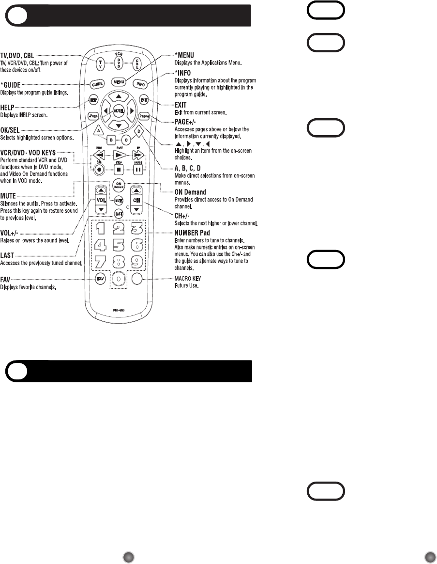 Page 3 of Universal Remote Control Universal Remote UR3