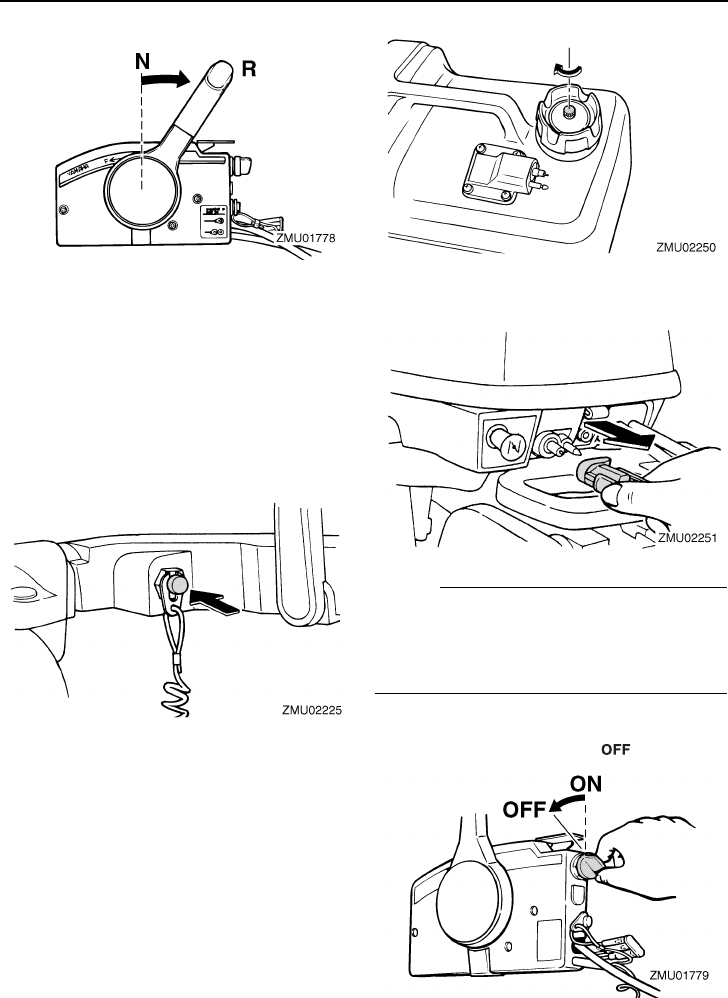 Page 41 of Yamaha Outboard Motor T8D User Guide