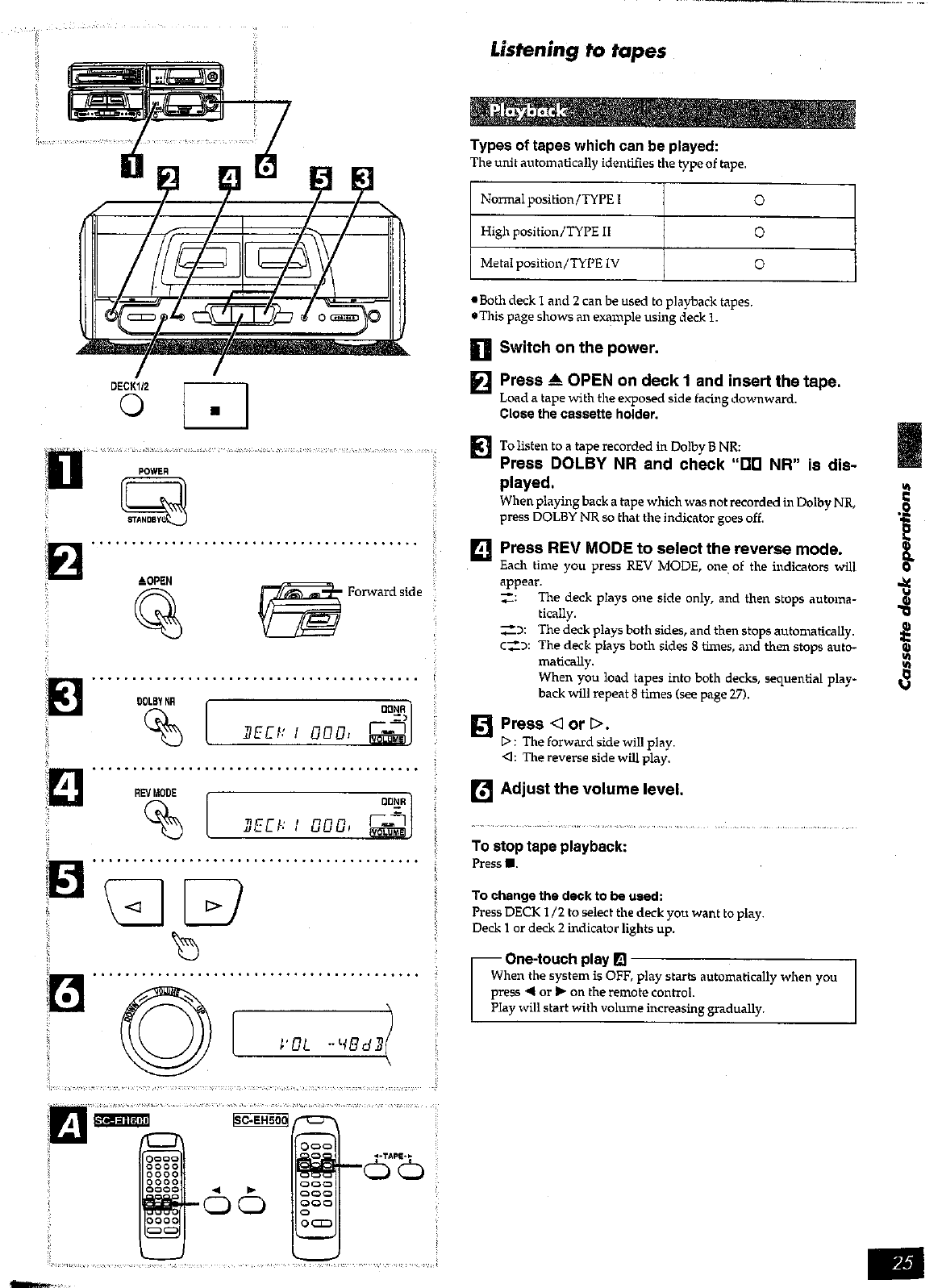 Page 25 of Technics Stereo System SC-EH600 User Guide
