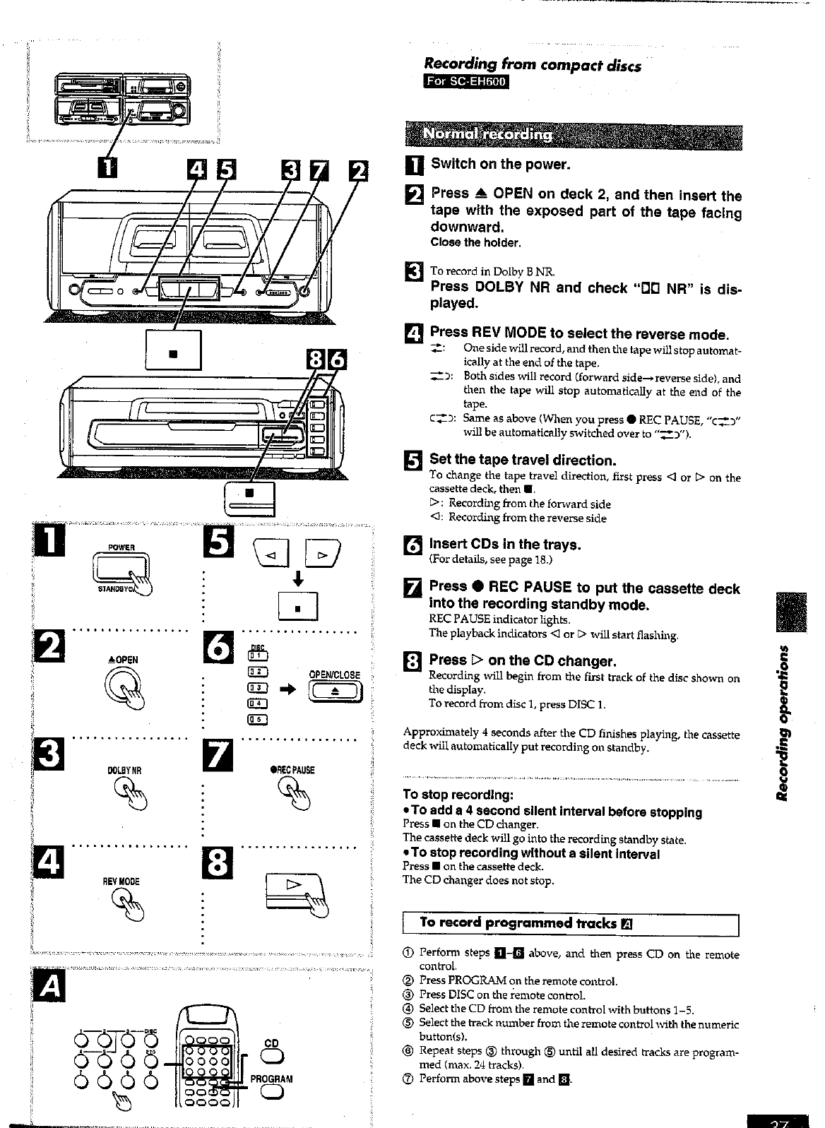 Page 37 of Technics Stereo System SC-EH600 User Guide