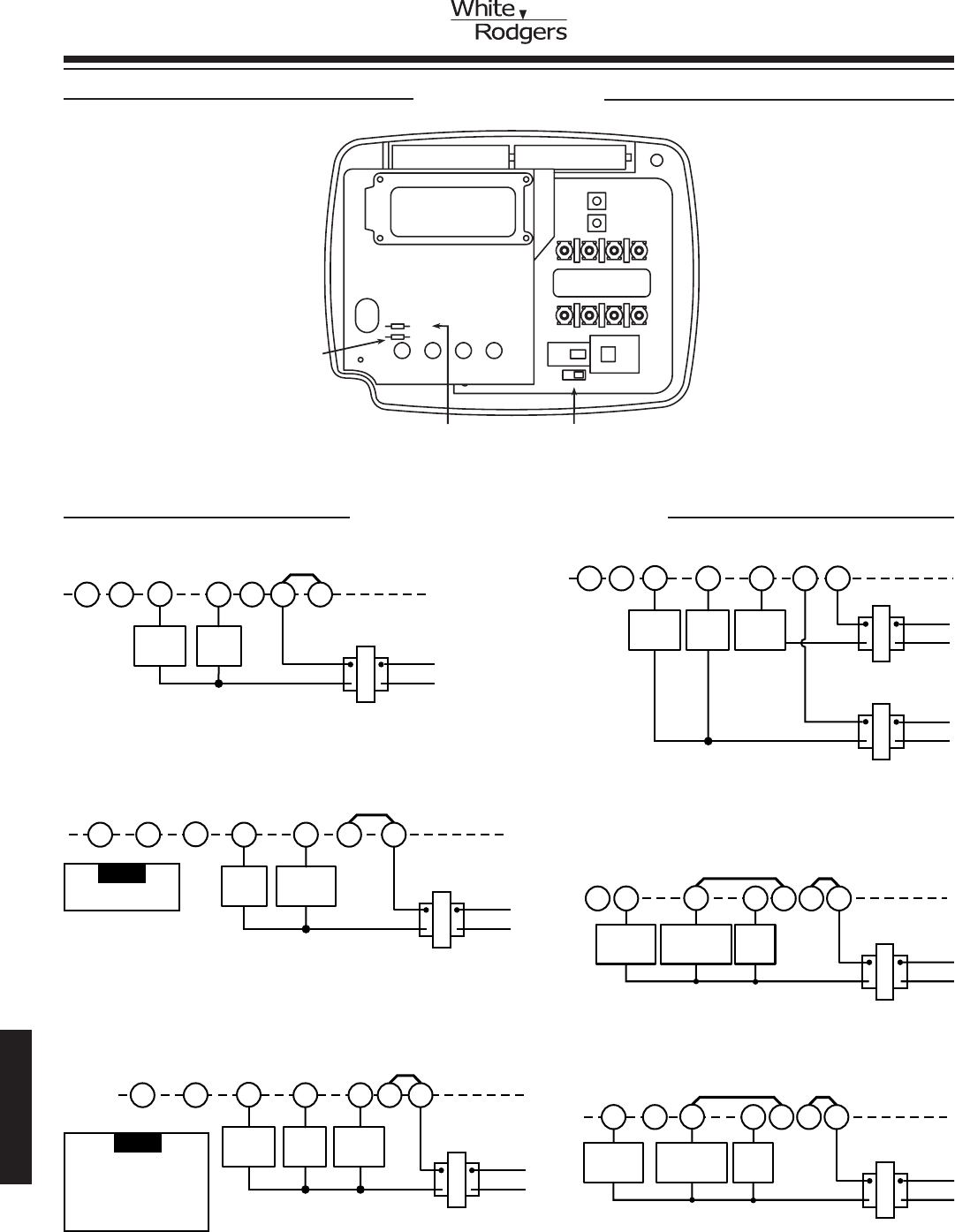 7 wire thermostat wiring diagram 1998 dodge ram 3500 radio emerson digital 41