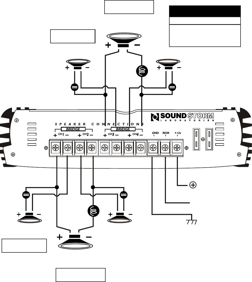Page 11 of Sound Storm Laboratories Stereo Amplifier