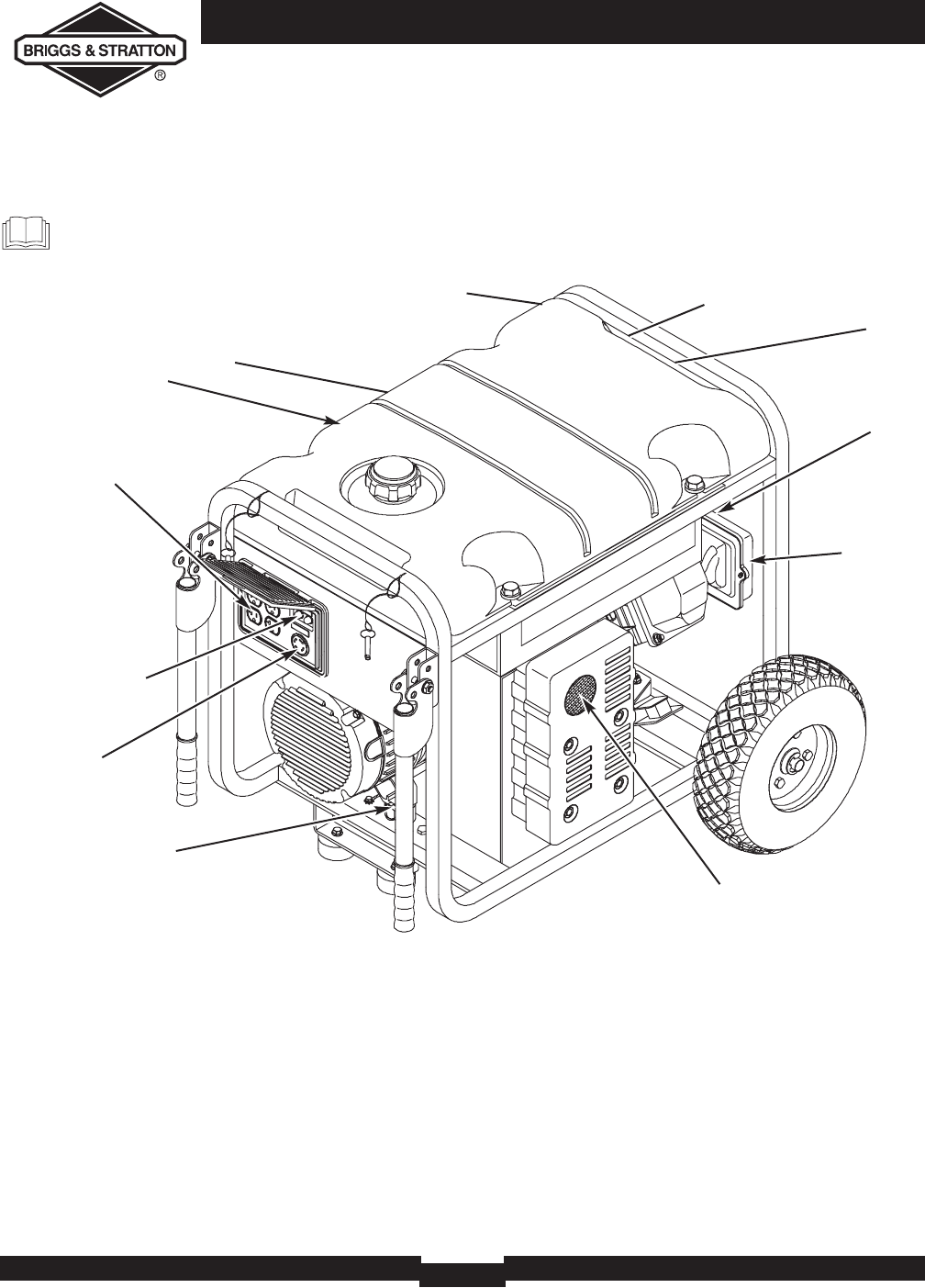 Page 6 of Briggs & Stratton Portable Generator 030242 User