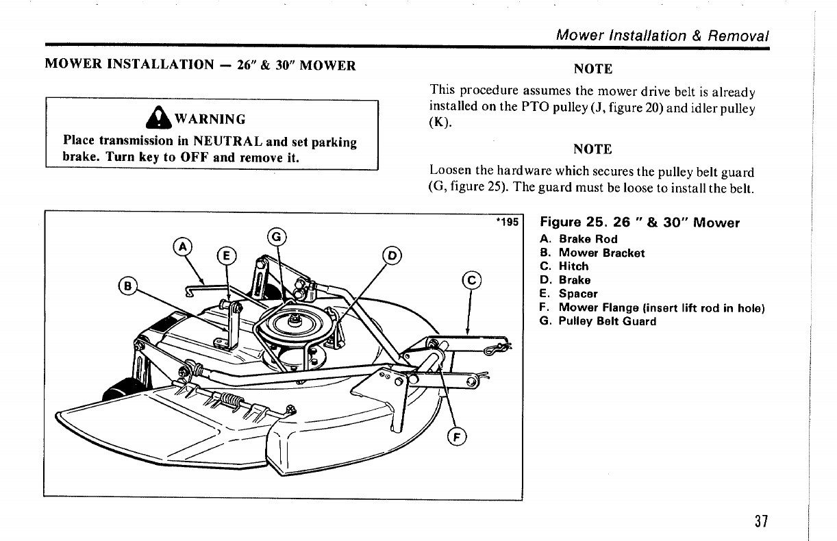 Page 39 of Snapper Lawn Mower 1036 User Guide