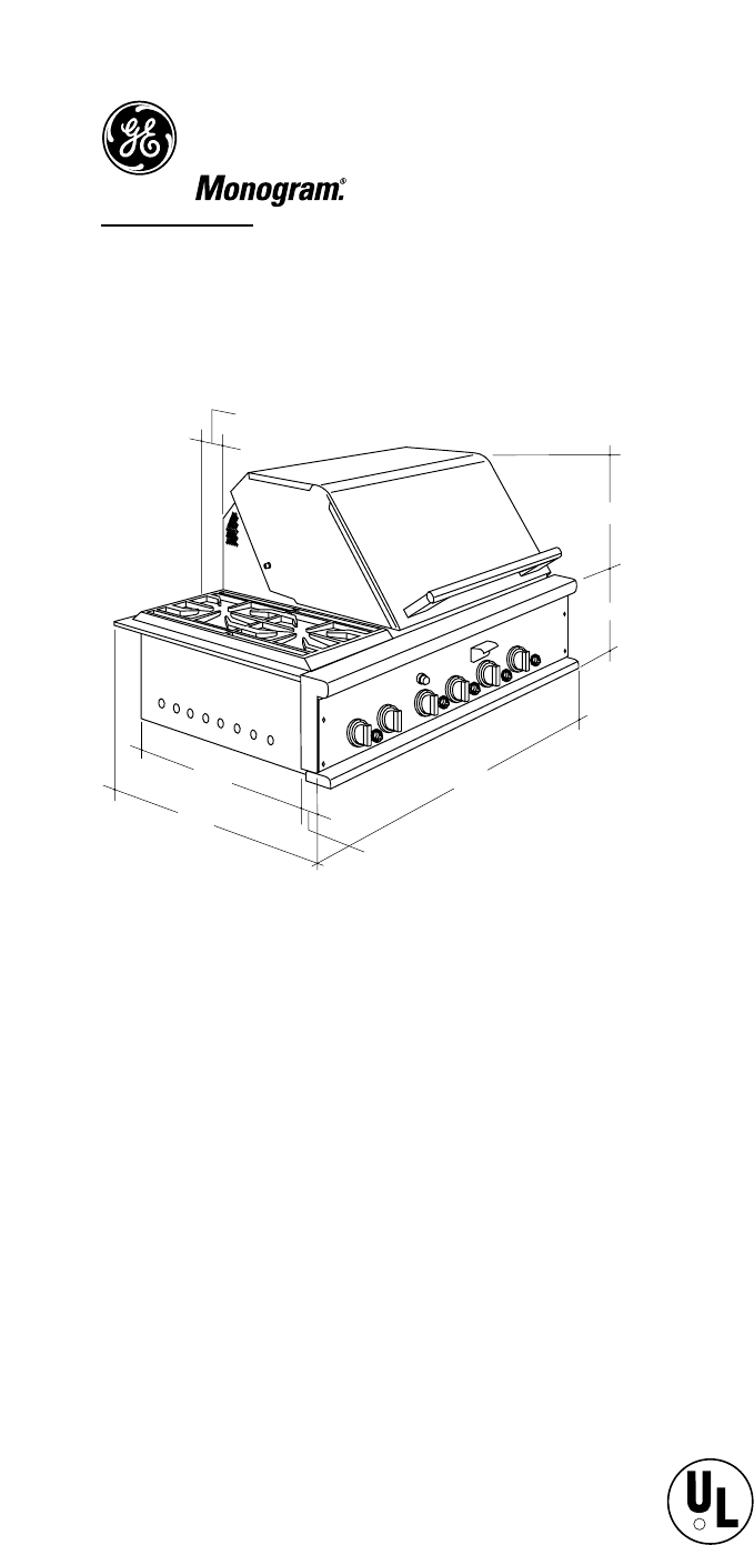 GE Monogram Gas Grill ZGG36L21CSS User Guide