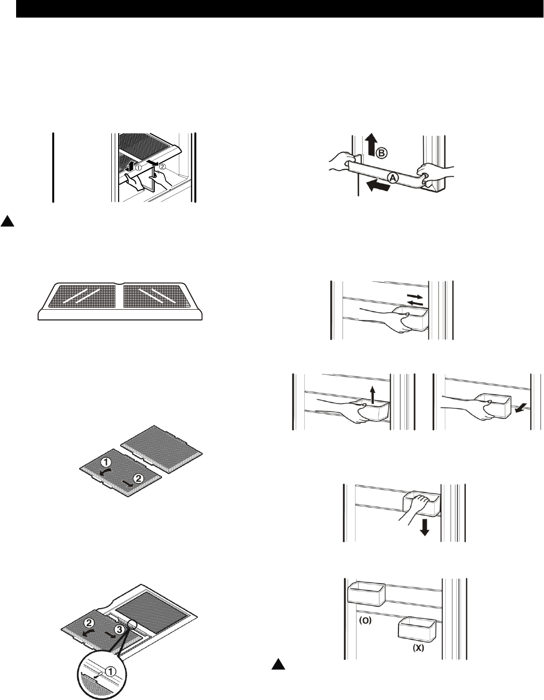 Page 24 of LG Electronics Refrigerator LBC2251 User Guide