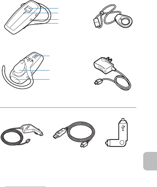 Page 5 of Plantronics Bluetooth Headset 370 User Guide