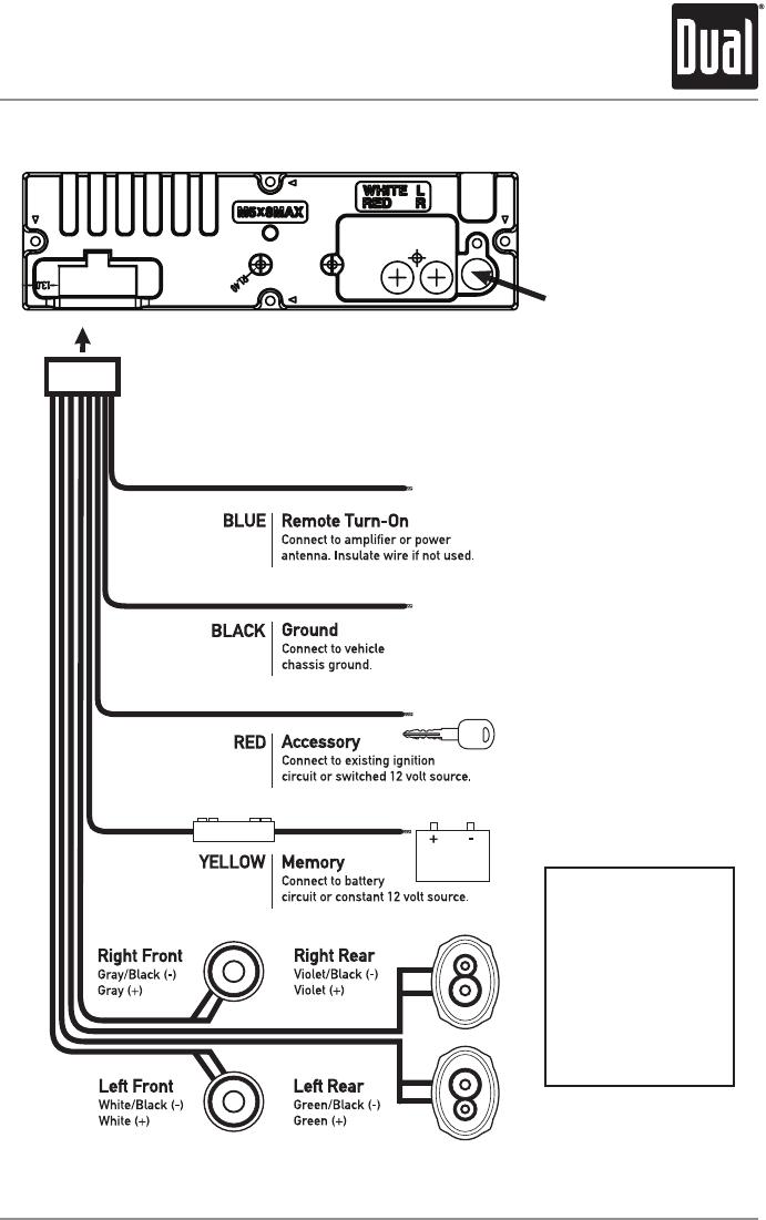 Dual Xd250 Wiring Diagram : 25 Wiring Diagram Images - Wiring ...