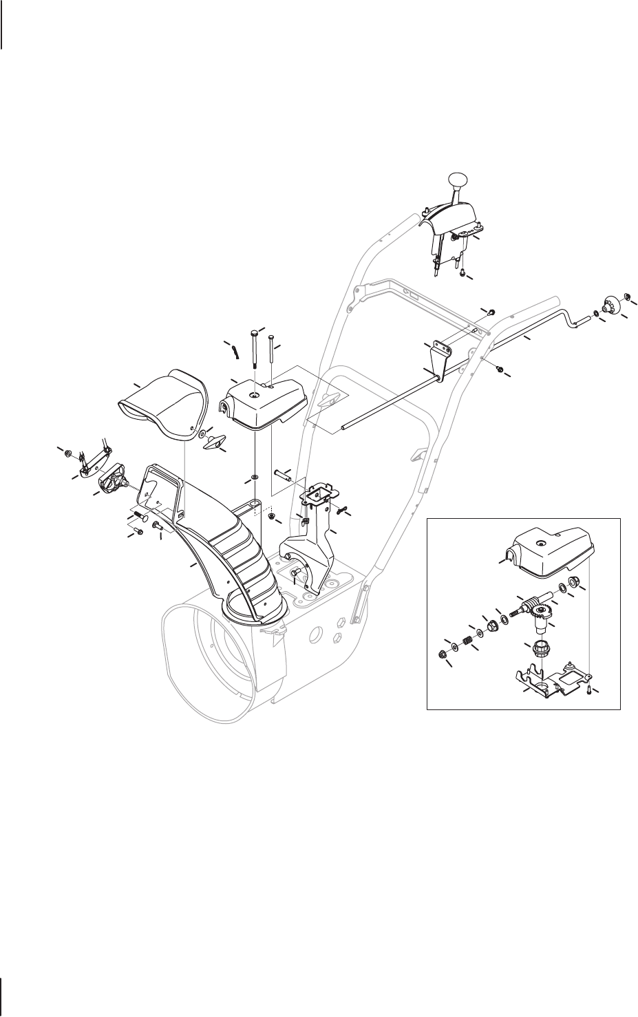 Page 16 of Troy-Bilt Snow Blower 600 User Guide