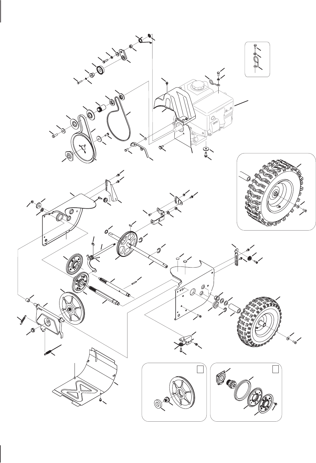 Page 20 of Troy-Bilt Snow Blower 600 User Guide