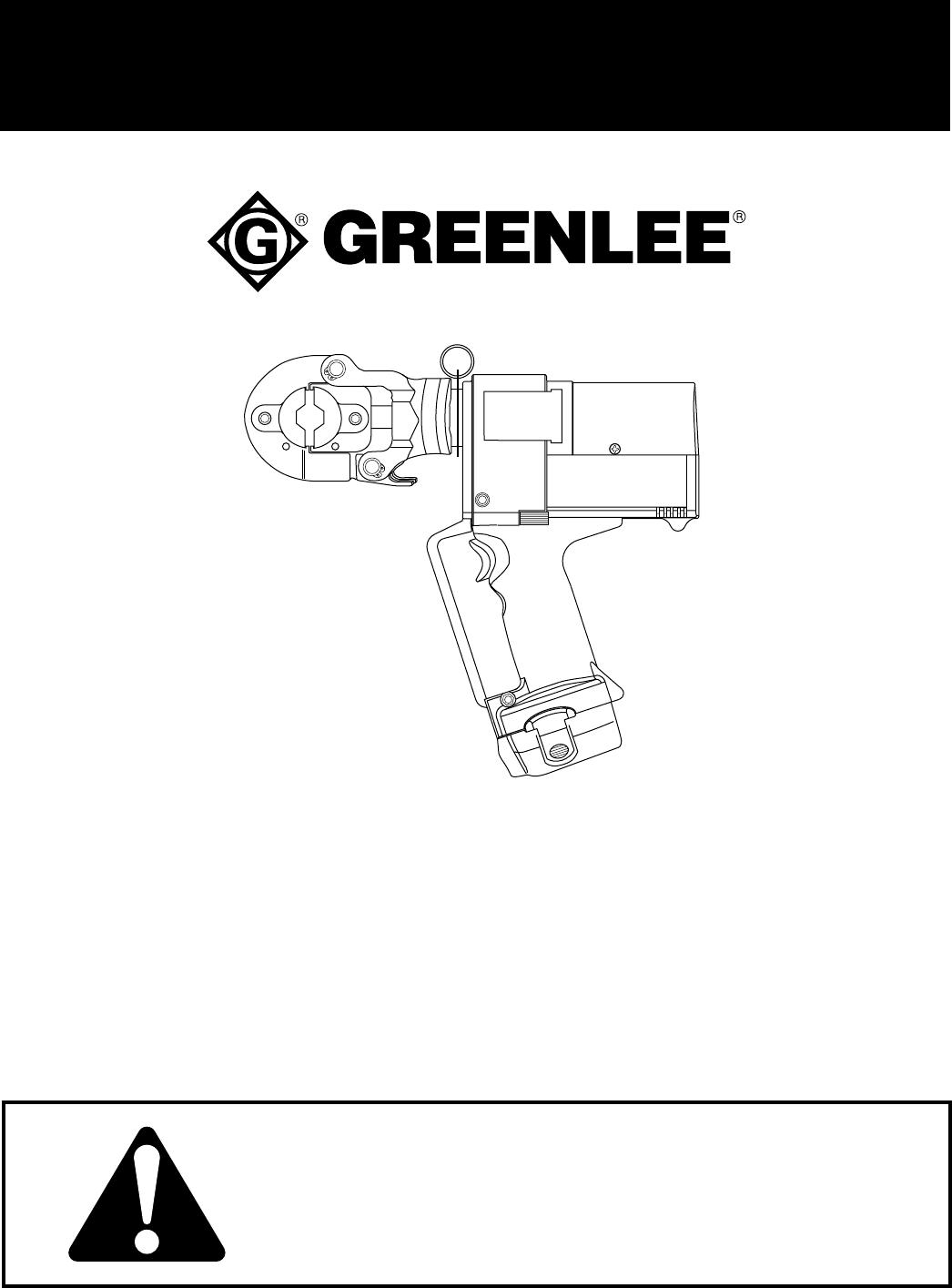 Thomas & Betts Battery Charger EK22GL User Guide