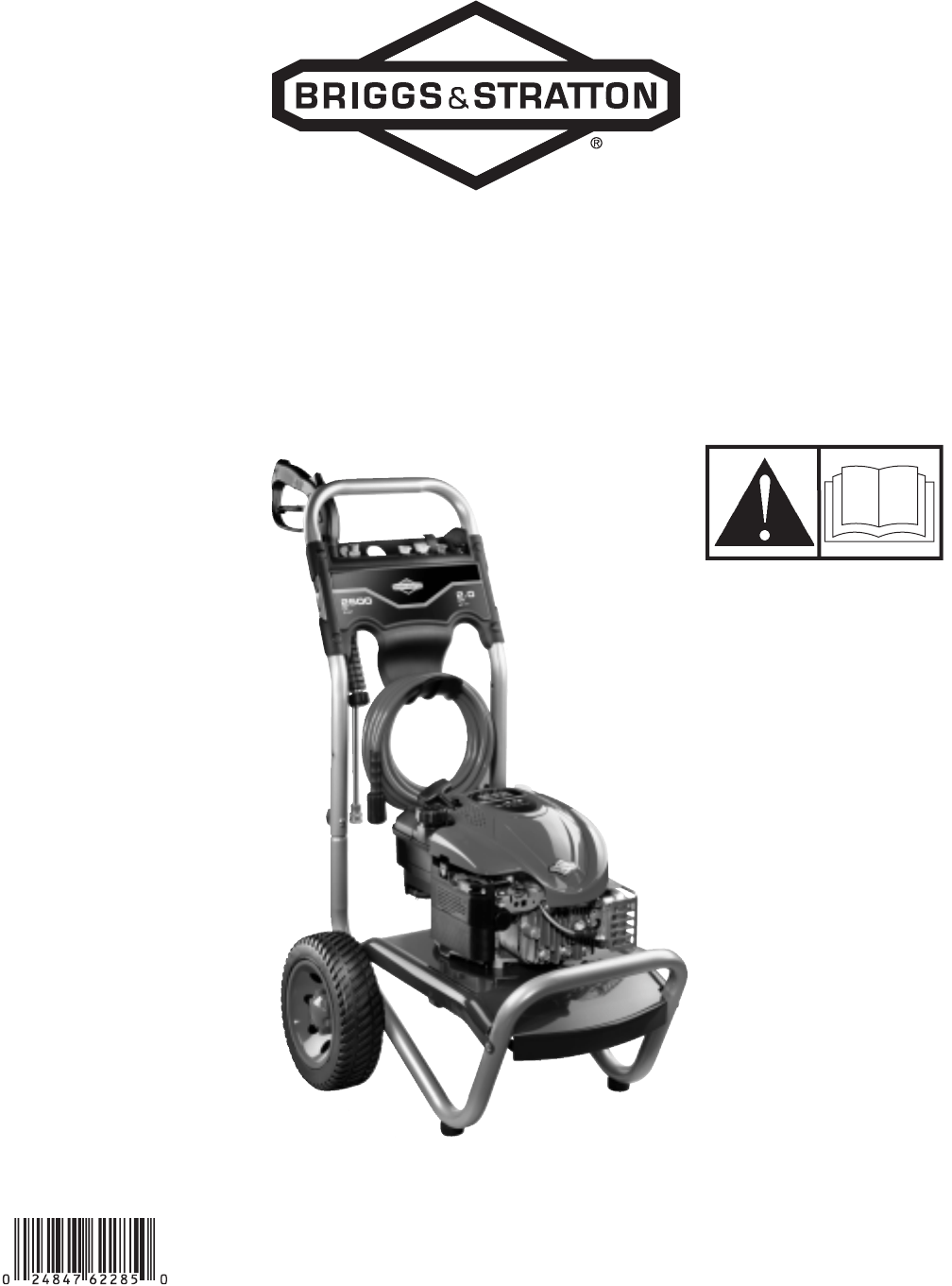 Briggs & Stratton Pressure Washer 2500 PSI User Guide