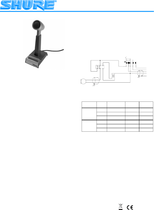 small resolution of shure mic wiring diagram