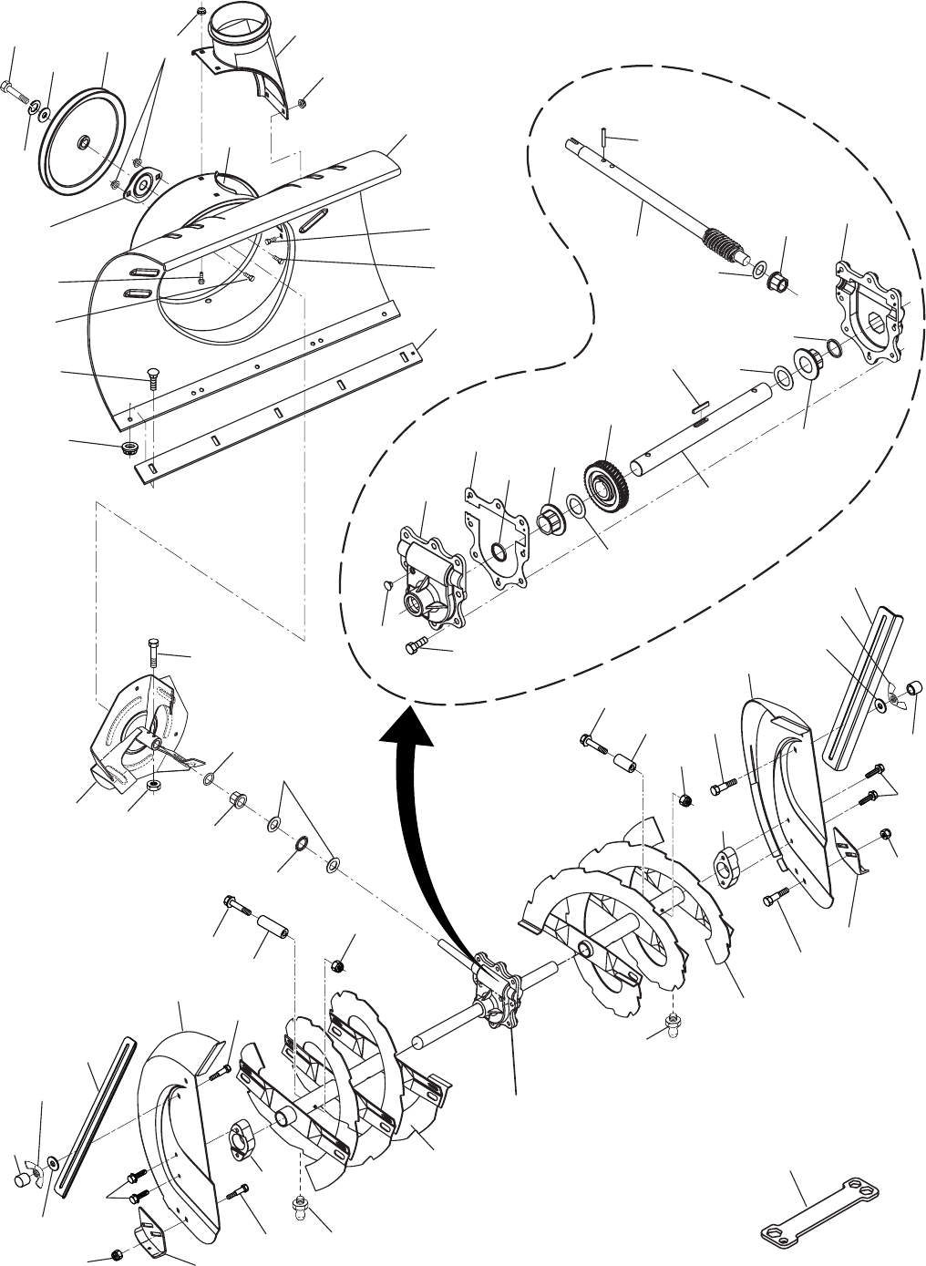 Page 20 of Husqvarna Snow Blower 10530SBE User Guide