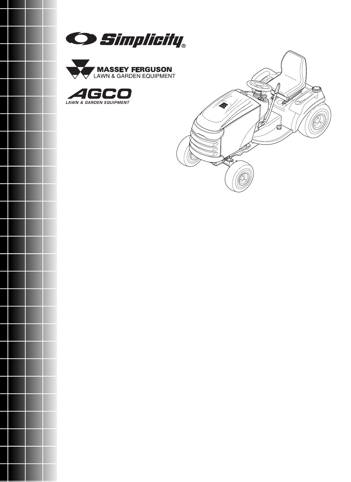 Simplicity Lawn Mower Conquest / 2700 User Guide