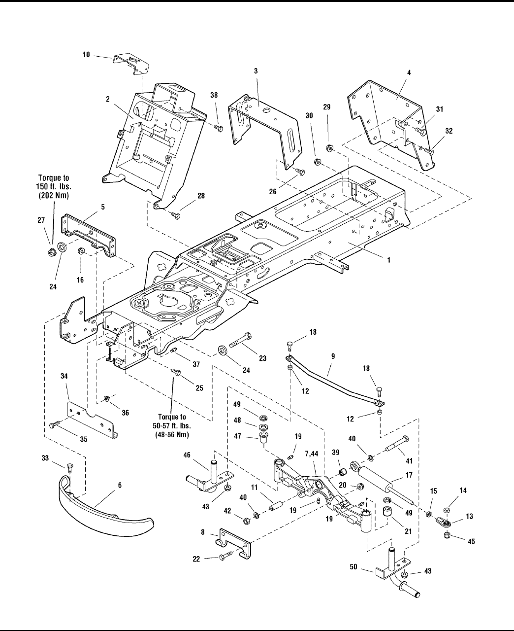 Page 8 of Simplicity Lawn Mower Conquest / 2700 User Guide