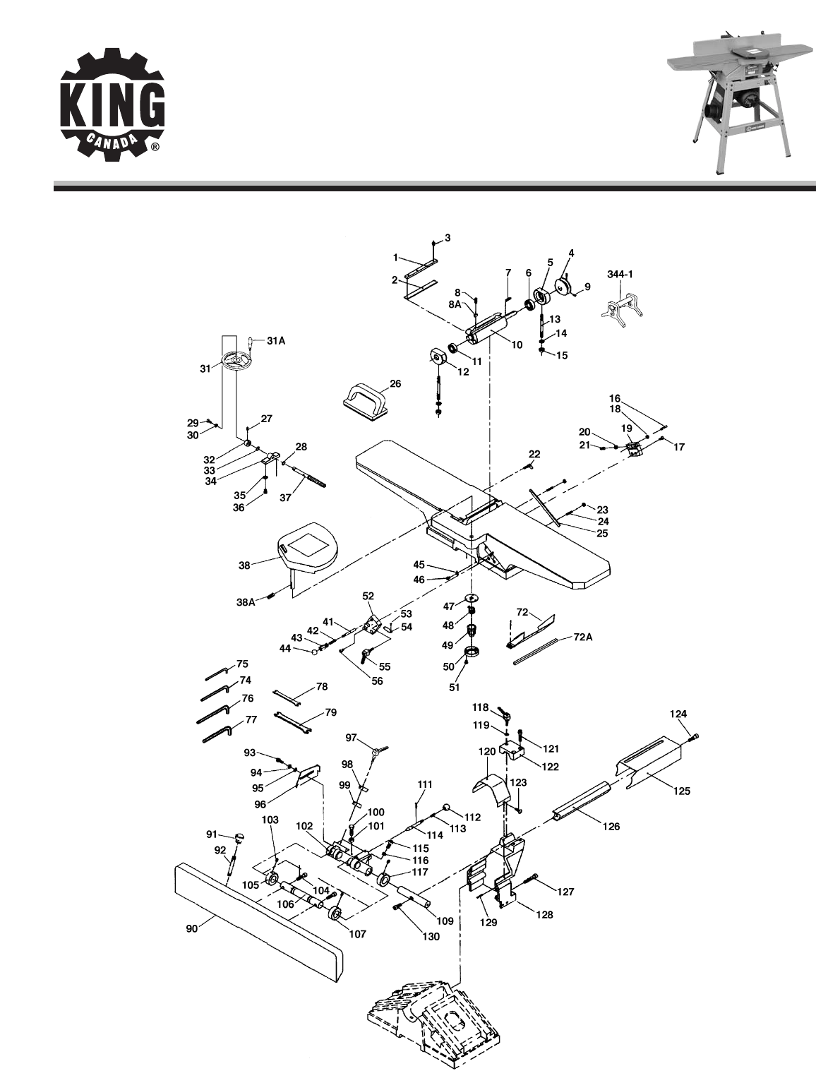 King Canada Biscuit Joiner KC-150C User Guide