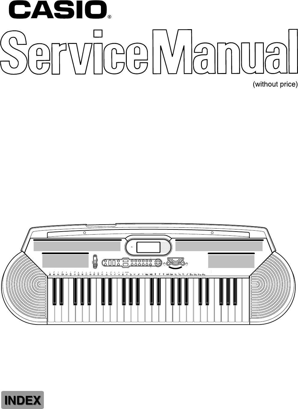 Casio Electronic Keyboard CTK-401 User Guide