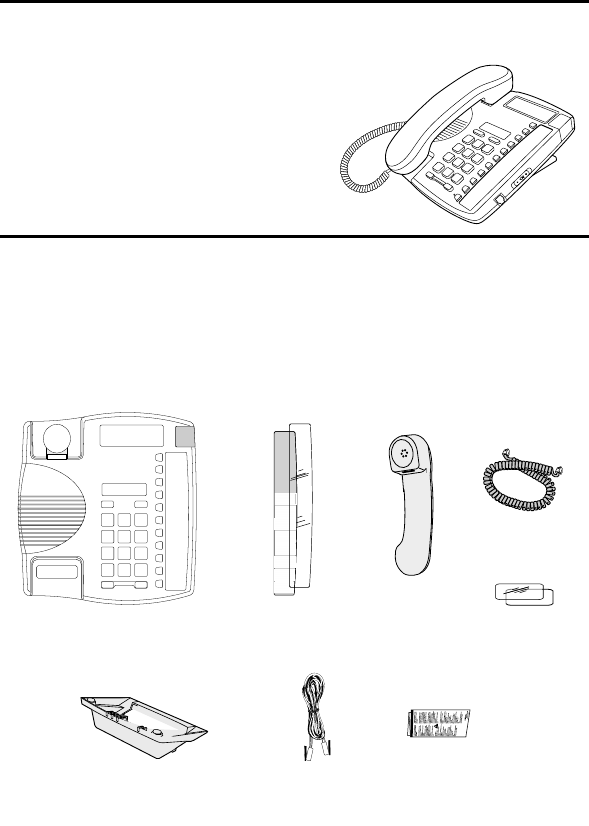 Page 3 of Aastra Telecom Telephone 9110 User Guide
