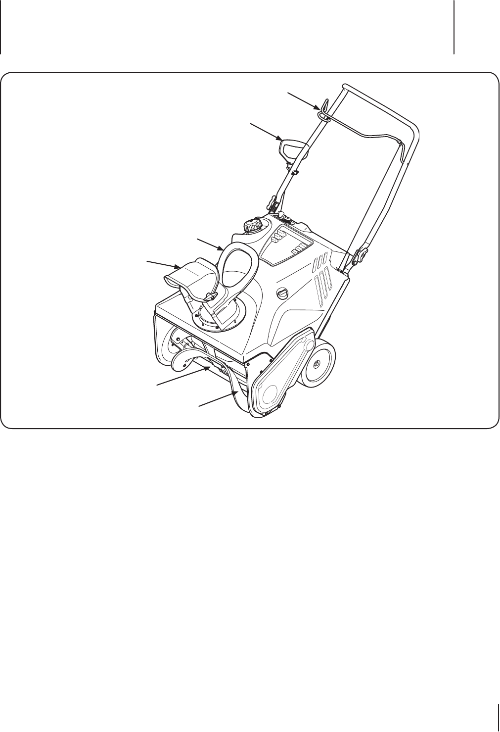 Page 9 of Cub Cadet Snow Blower 221 HP User Guide