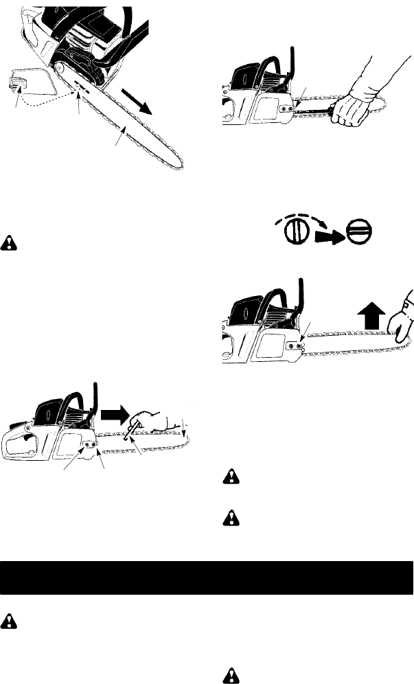 Page 8 of McCulloch Chainsaw MAC 742 User Guide