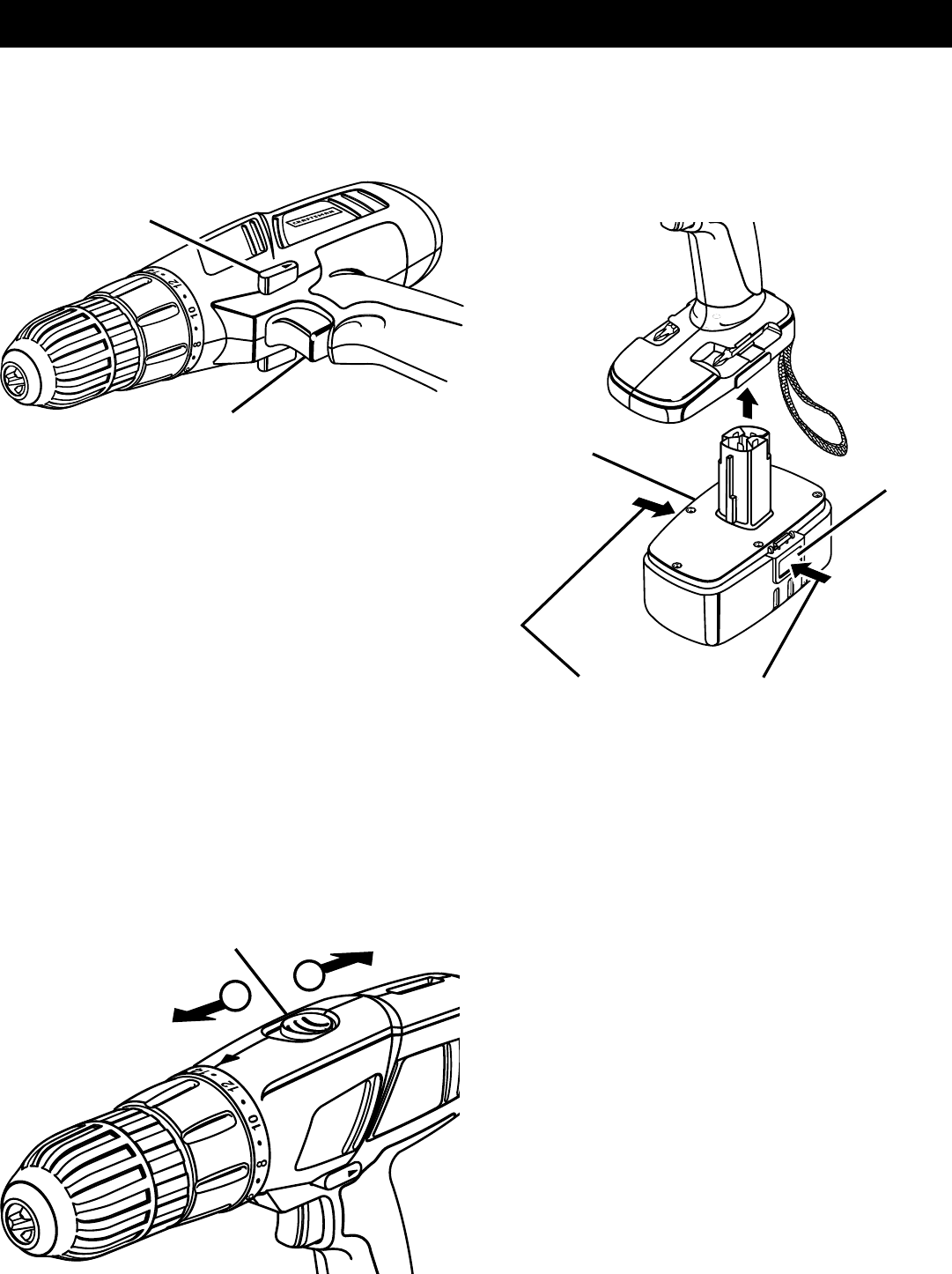 Page 12 of Sears Cordless Drill 315.11485 User Guide