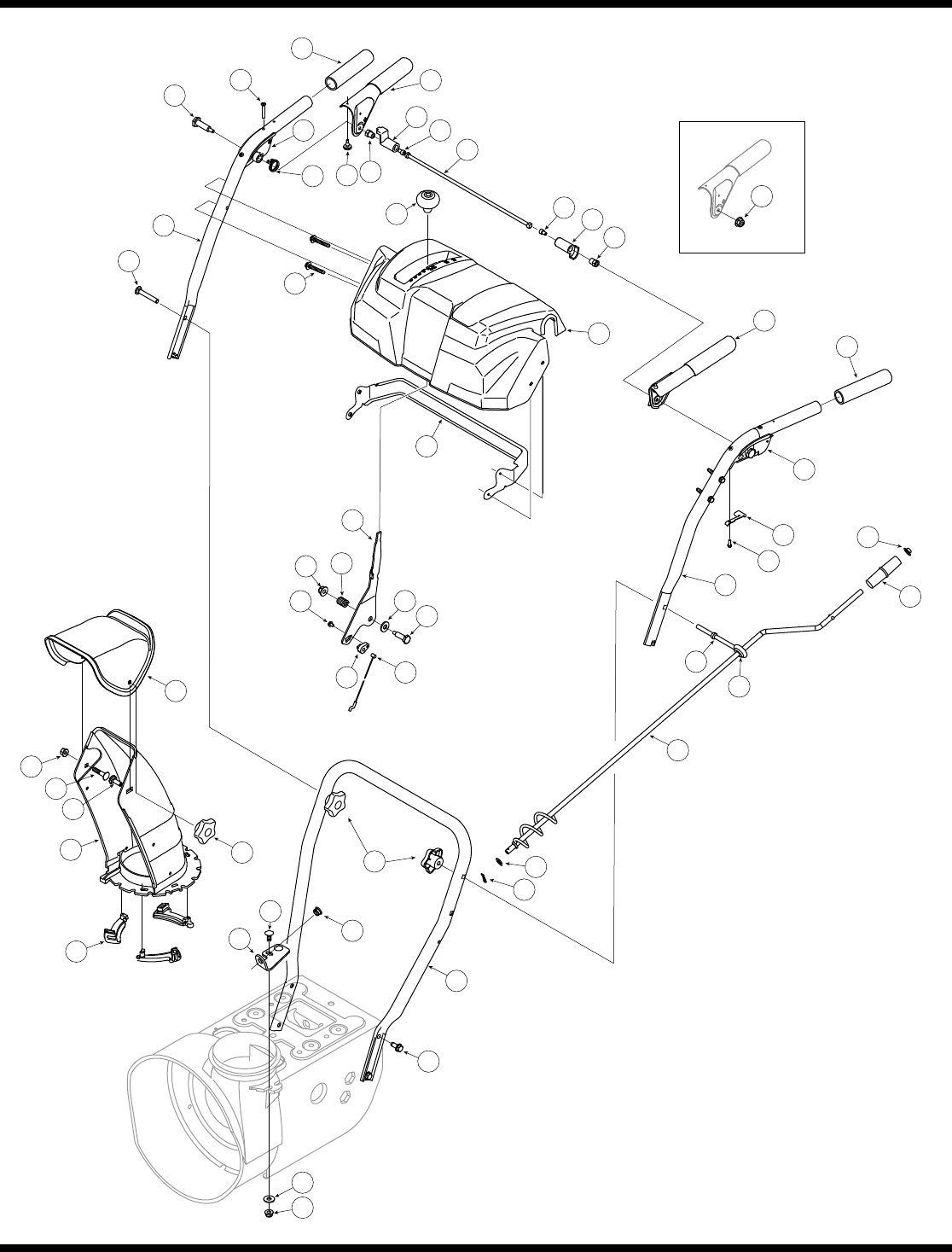 Page 22 of Troy-Bilt Snow Blower STORM Series User Guide