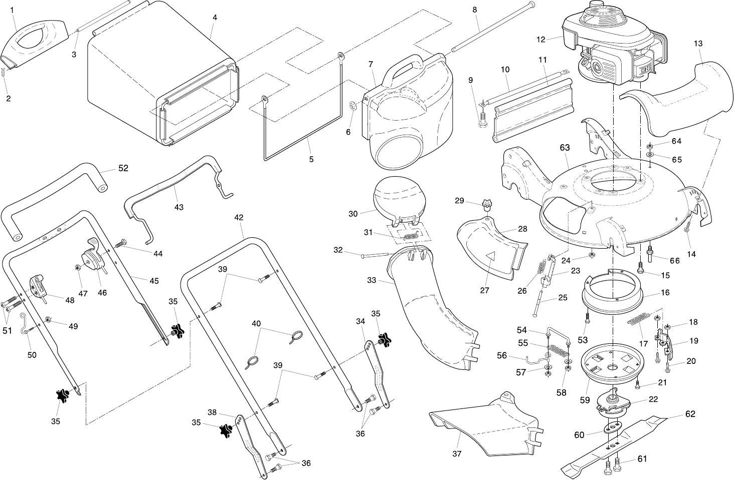 Page 20 of Husqvarna Lawn Mower 55B21HV User Guide