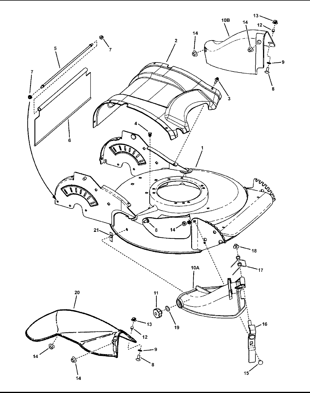 Page 8 of Snapper Lawn Mower SPV21 (7800005) User Guide