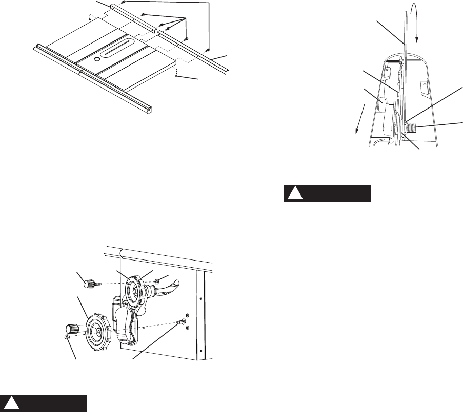 Page 17 of Porter-Cable Saw PCB270TS User Guide