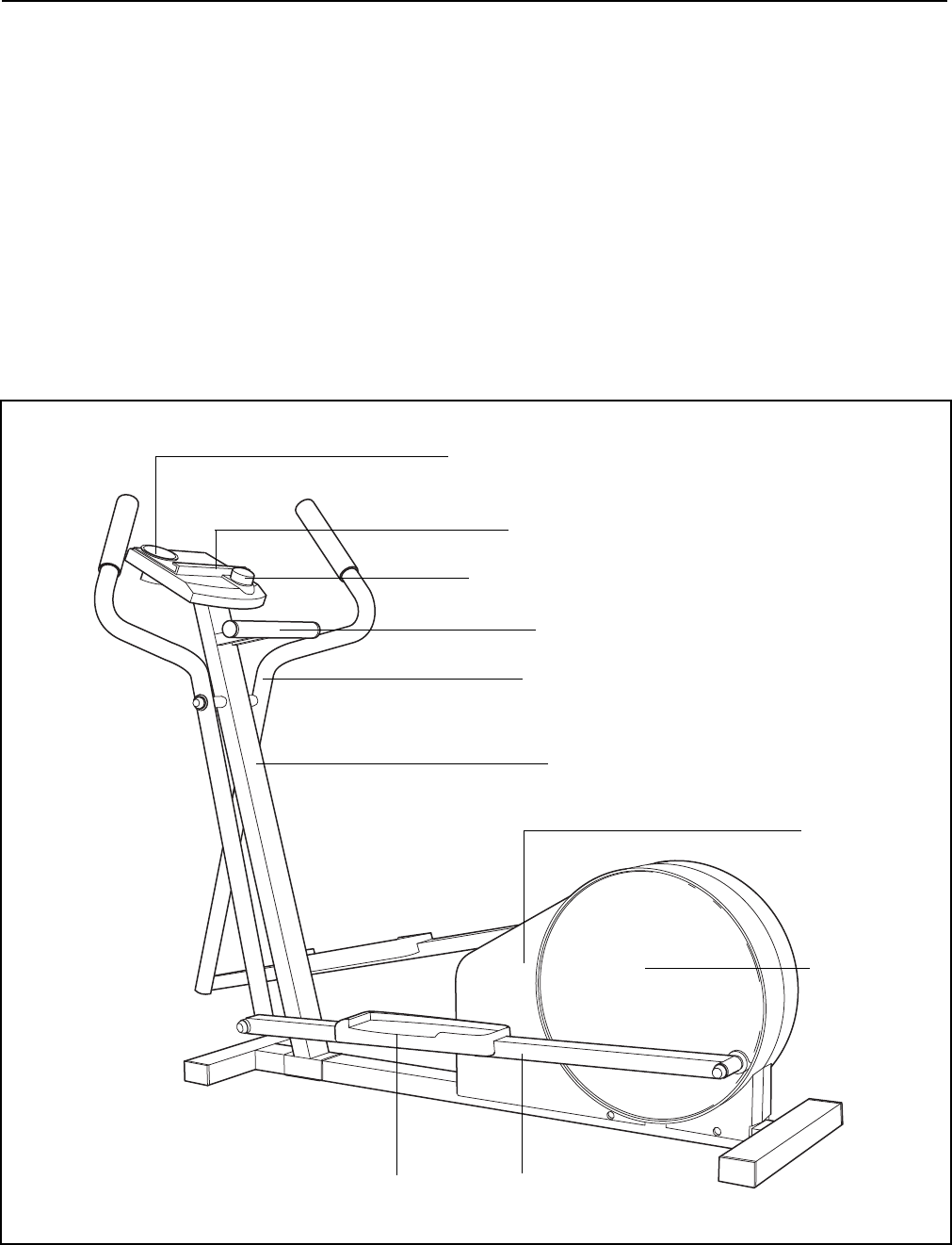 Page 4 of ProForm Exercise Bike 831.285736 User Guide