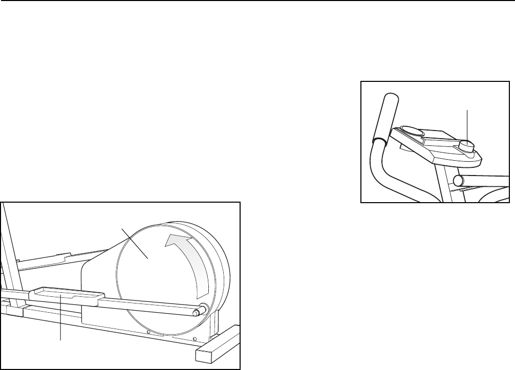 Page 9 of ProForm Exercise Bike 485E User Guide