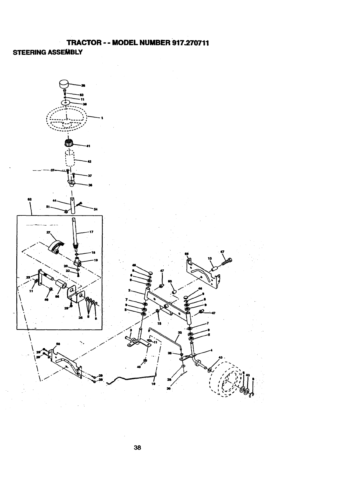 Page 38 of Craftsman Lawn Mower 917.270711 User Guide