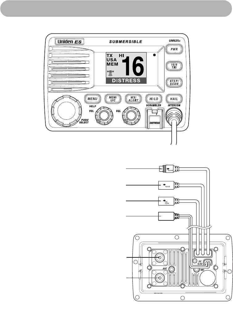 Page 11 of Uniden Two-Way Radio UM-525 User Guide