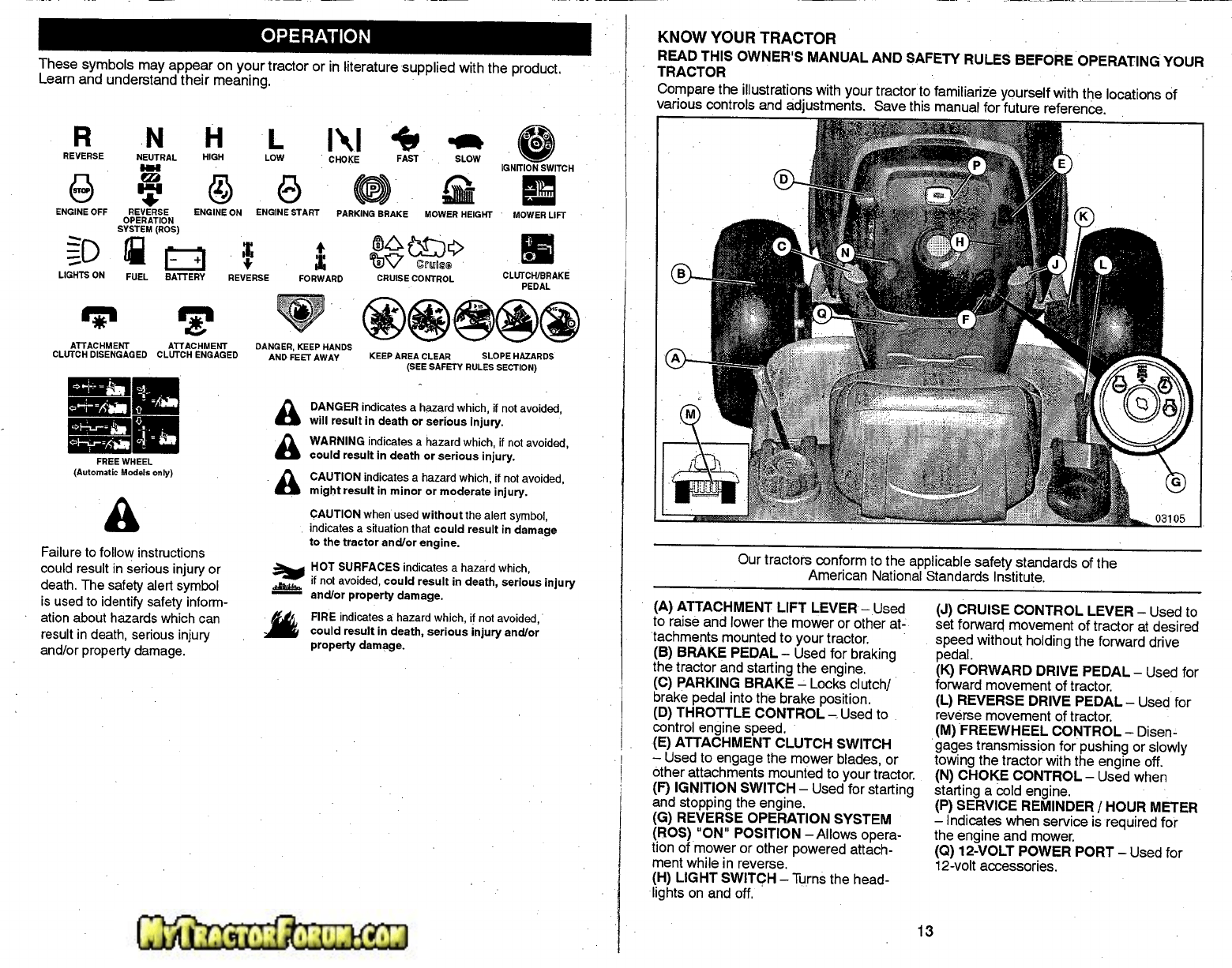 Page 7 of Craftsman Lawn Mower 917.28746 User Guide