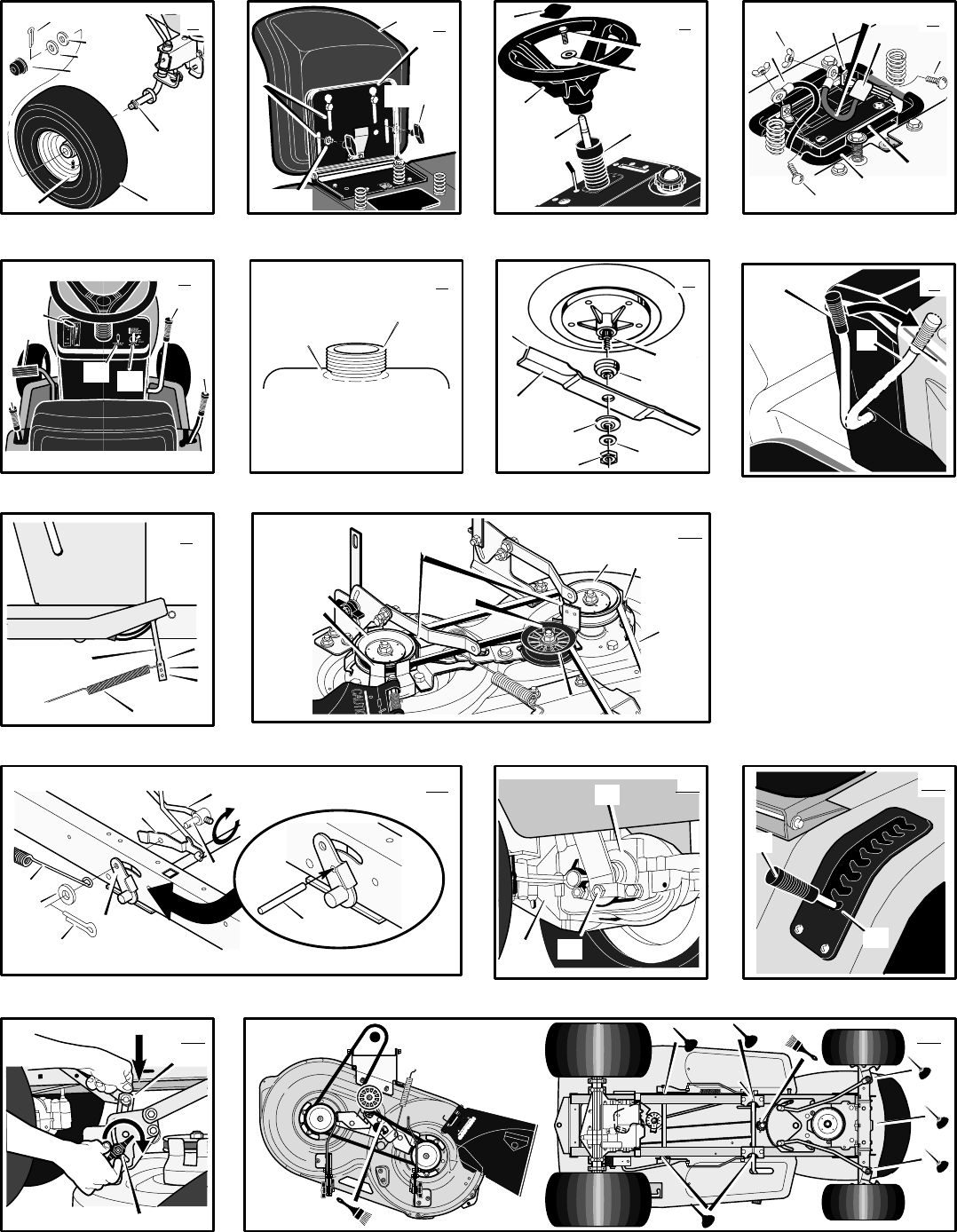 Page 2 of Murray Lawn Mower 405001x78B User Guide