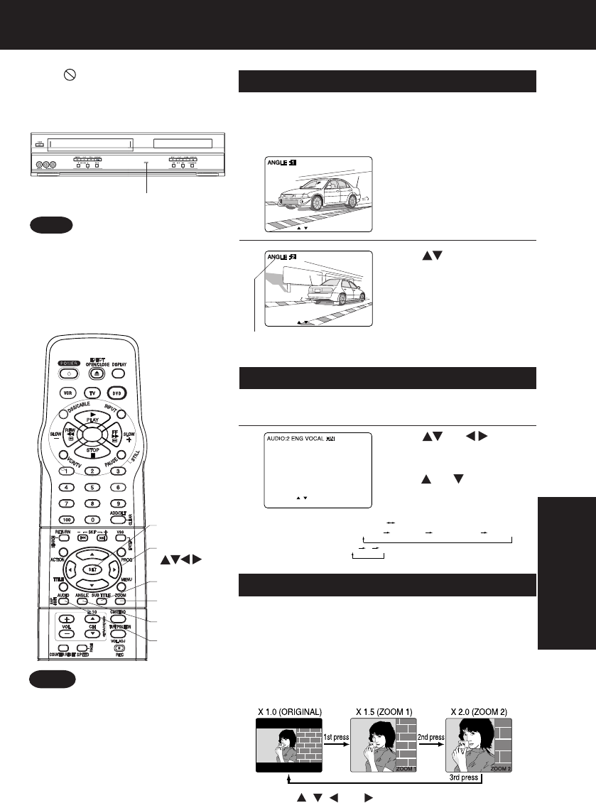 Page 37 of Panasonic DVD VCR Combo PV-D4753S User Guide