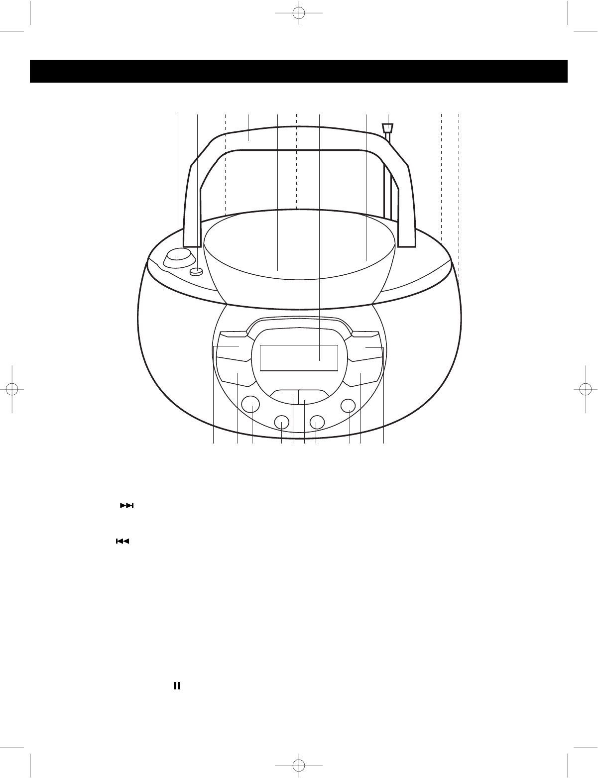 Page 4 of Emerson CD Player PD5500 User Guide