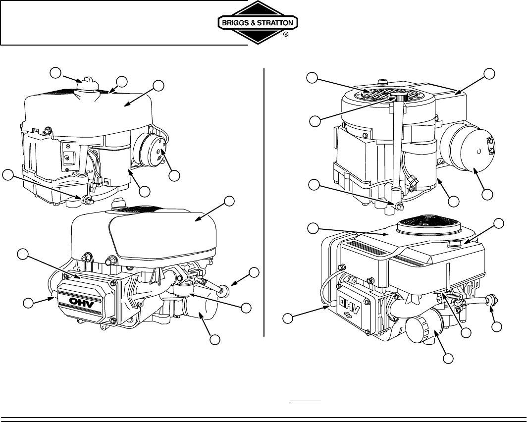 Page 6 of Briggs & Stratton Lawn Mower 310000 User Guide