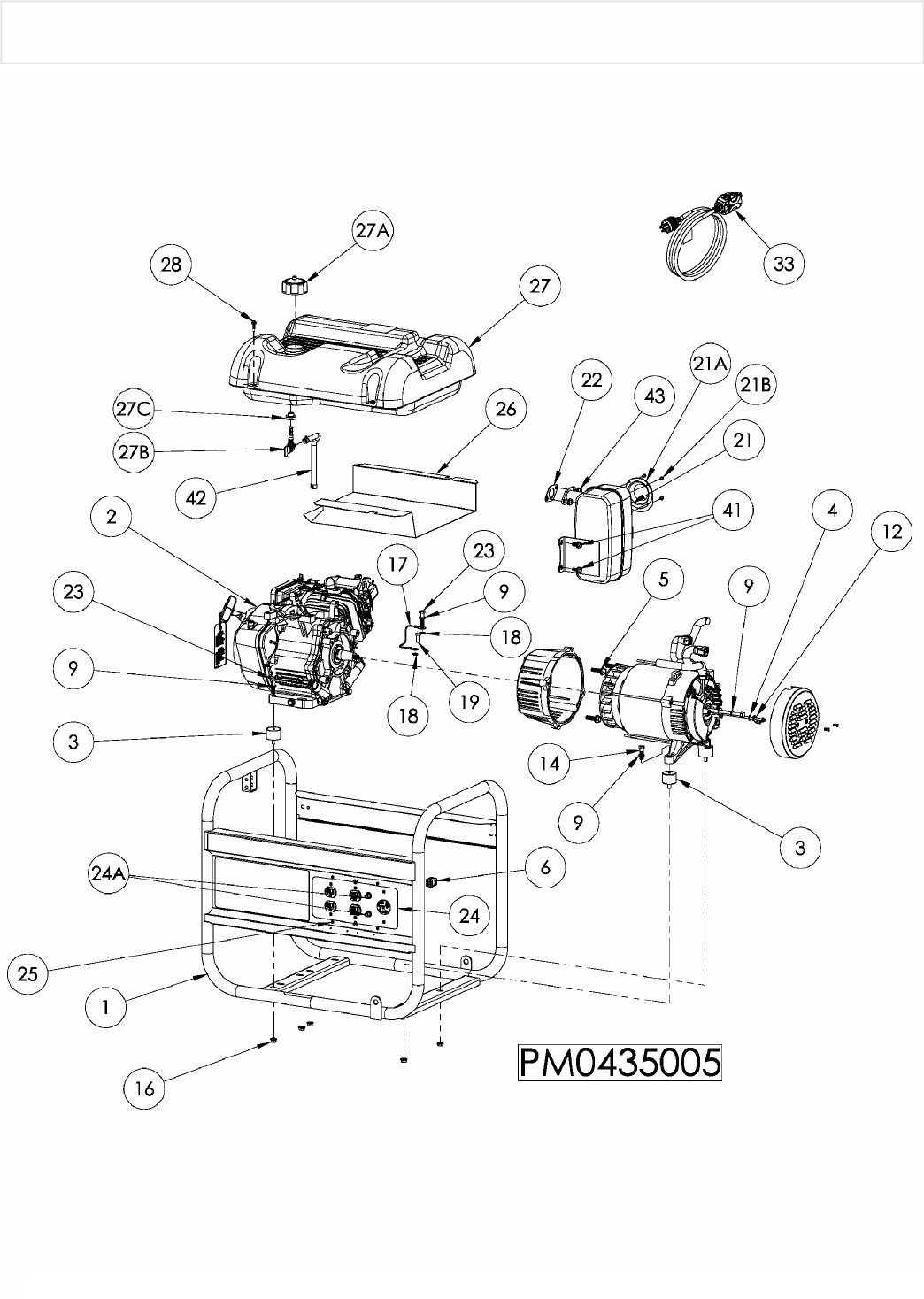 Page 8 of Coleman Portable Generator PM0435005 User Guide