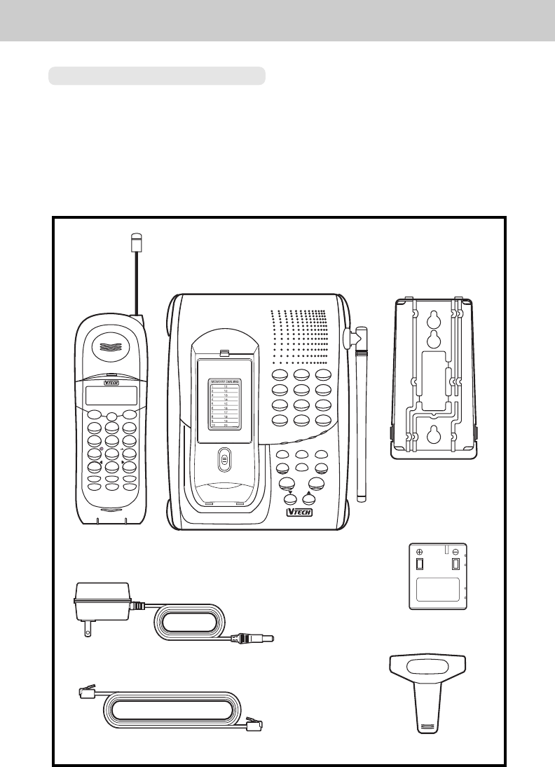 Page 5 of VTech Cordless Telephone 1930c User Guide
