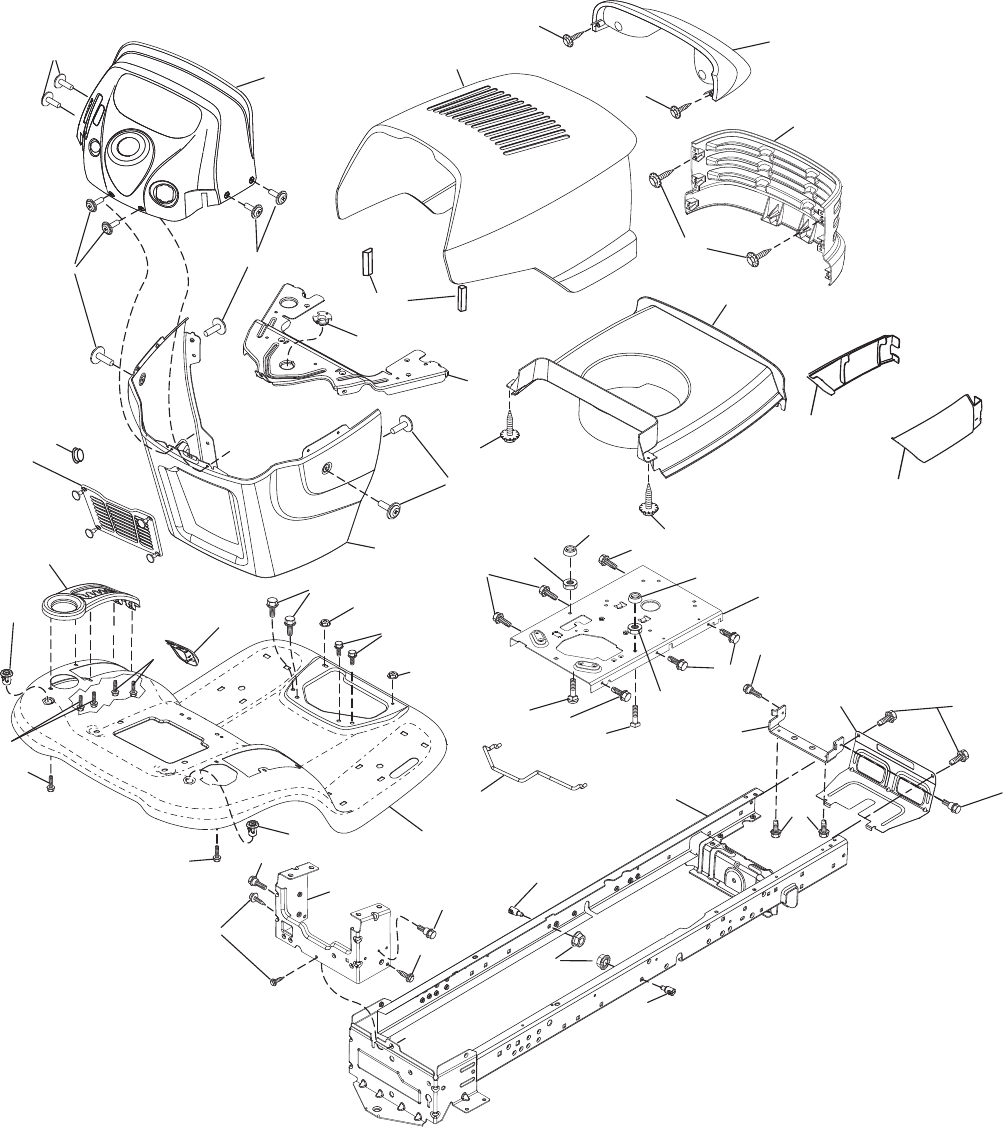 Page 6 of Poulan Lawn Mower PB22H54BF User Guide