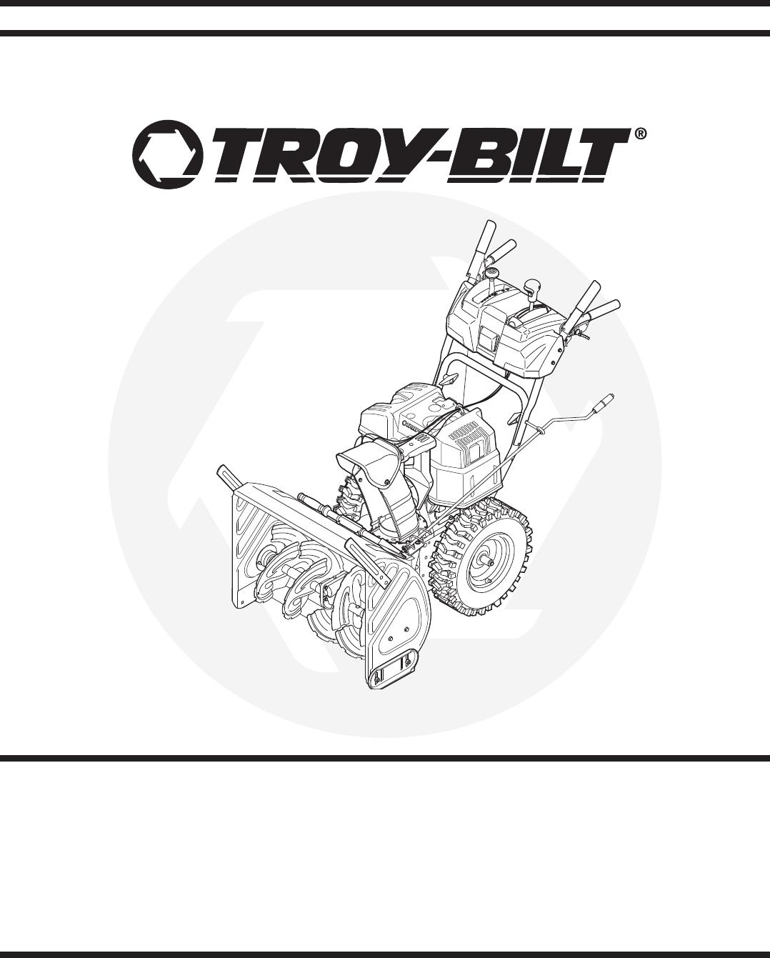 Troy-Bilt Snow Blower 31AE6GKF500 User Guide