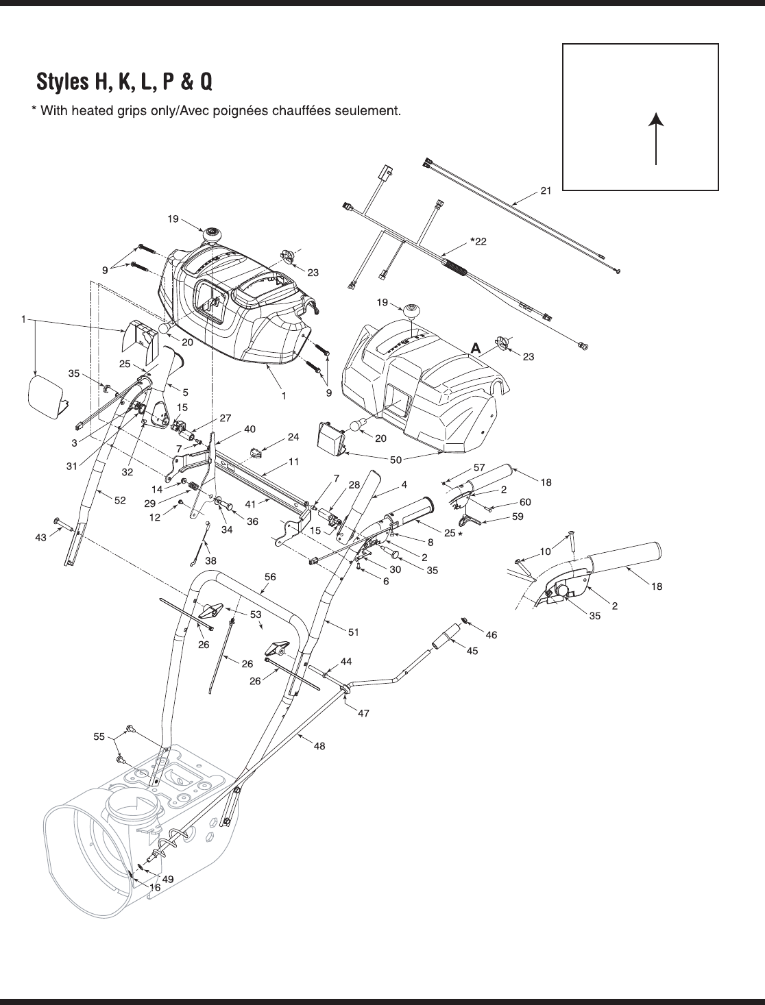 Page 26 of Troy-Bilt Snow Blower 31AE6GKF500 User Guide