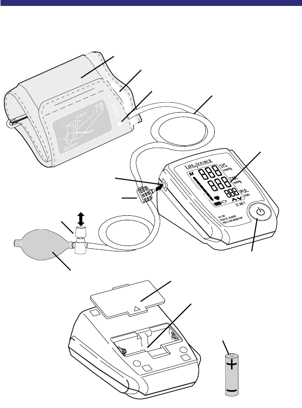 Page 6 of LifeSource Blood Pressure Monitor UA-705 User
